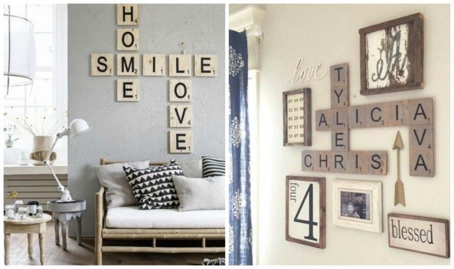 Decorare le pareti di casa con il lettering bigodino for Decorazioni a muro