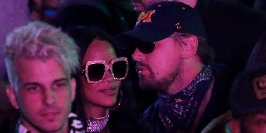 Rihanna e Leonardo DiCaprio
