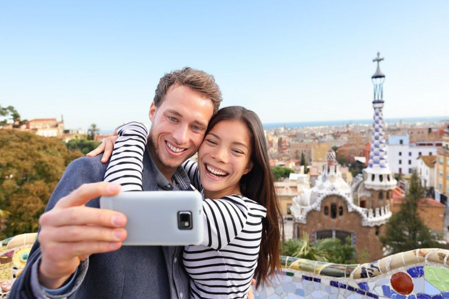 amore dai... facciamoci un bel selfie!