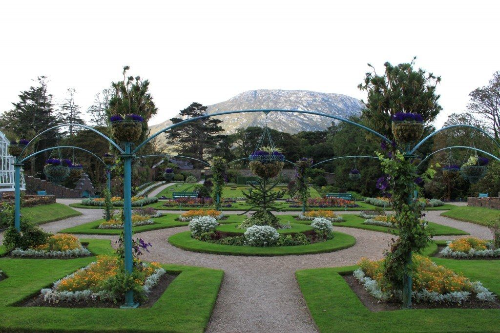 Victorian Gardens a Kylemore Abbey
