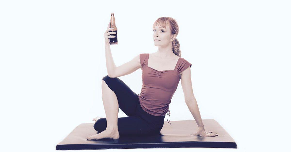 Birra o yoga? Entrambi, grazie!