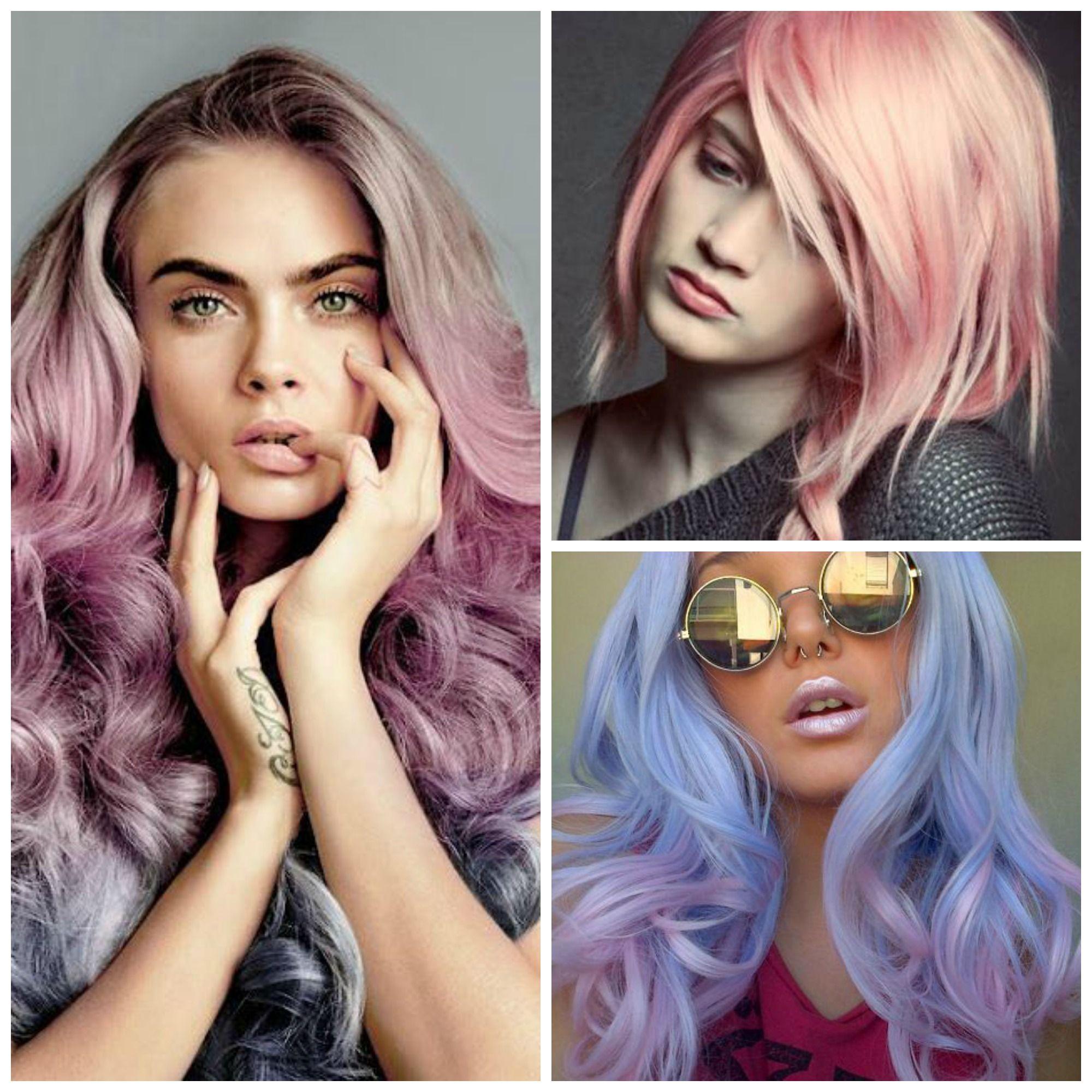 collage hair pantone
