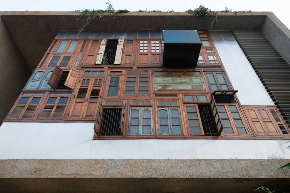 La facciata esterna della Collage House