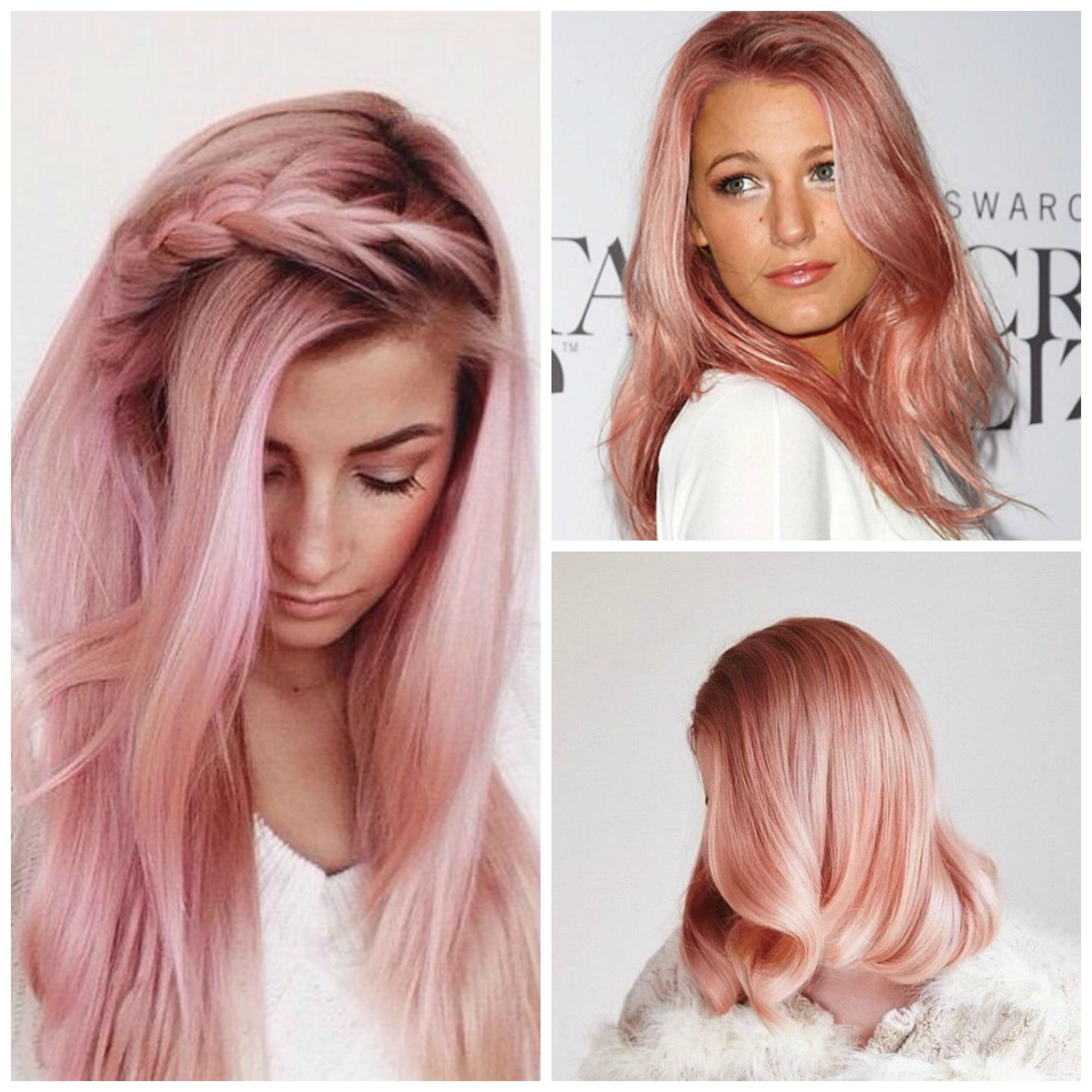 collage rose gold