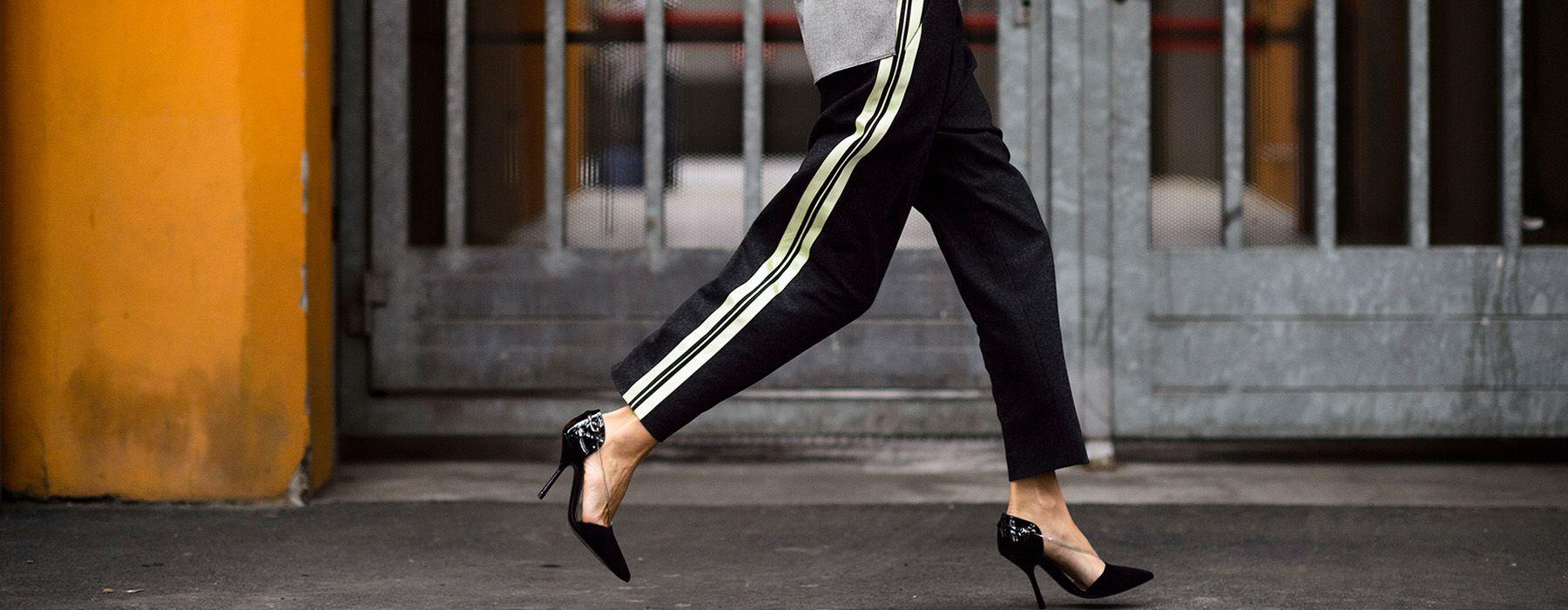 Ad ogni pantalone il suo tipo di scarpa