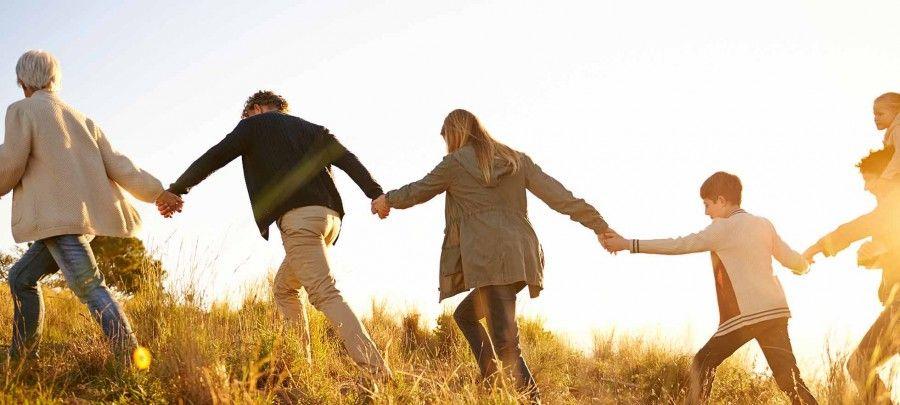 Essere una famiglia vuol dire camminare insieme