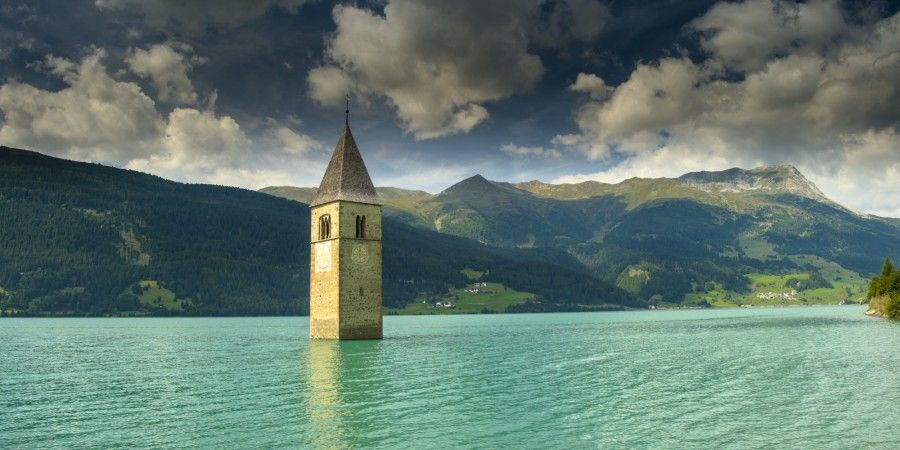 Lago di Resia. @federighi.gianluca