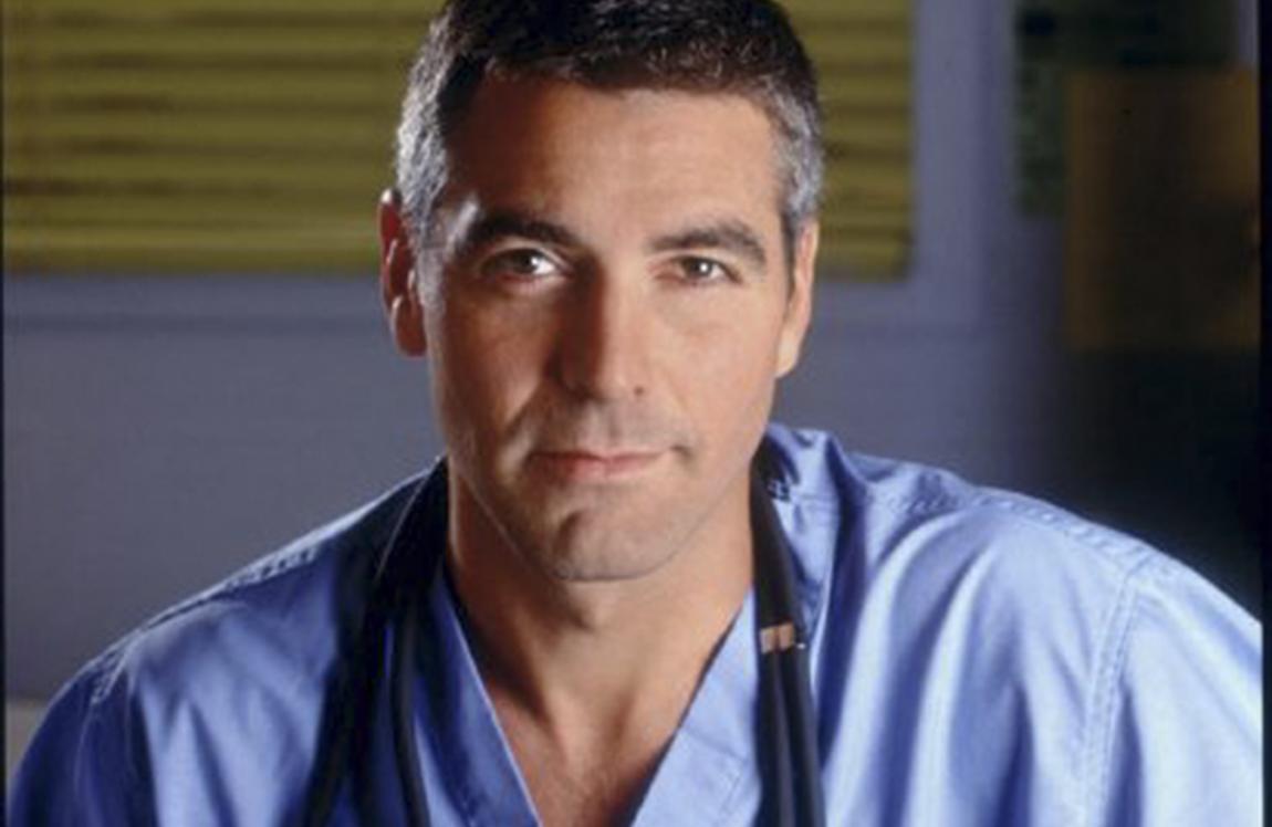 George Clooney medico pediatra in ER