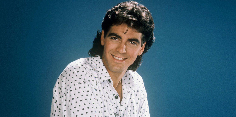 George Clooney da giovane... che ciuffo!