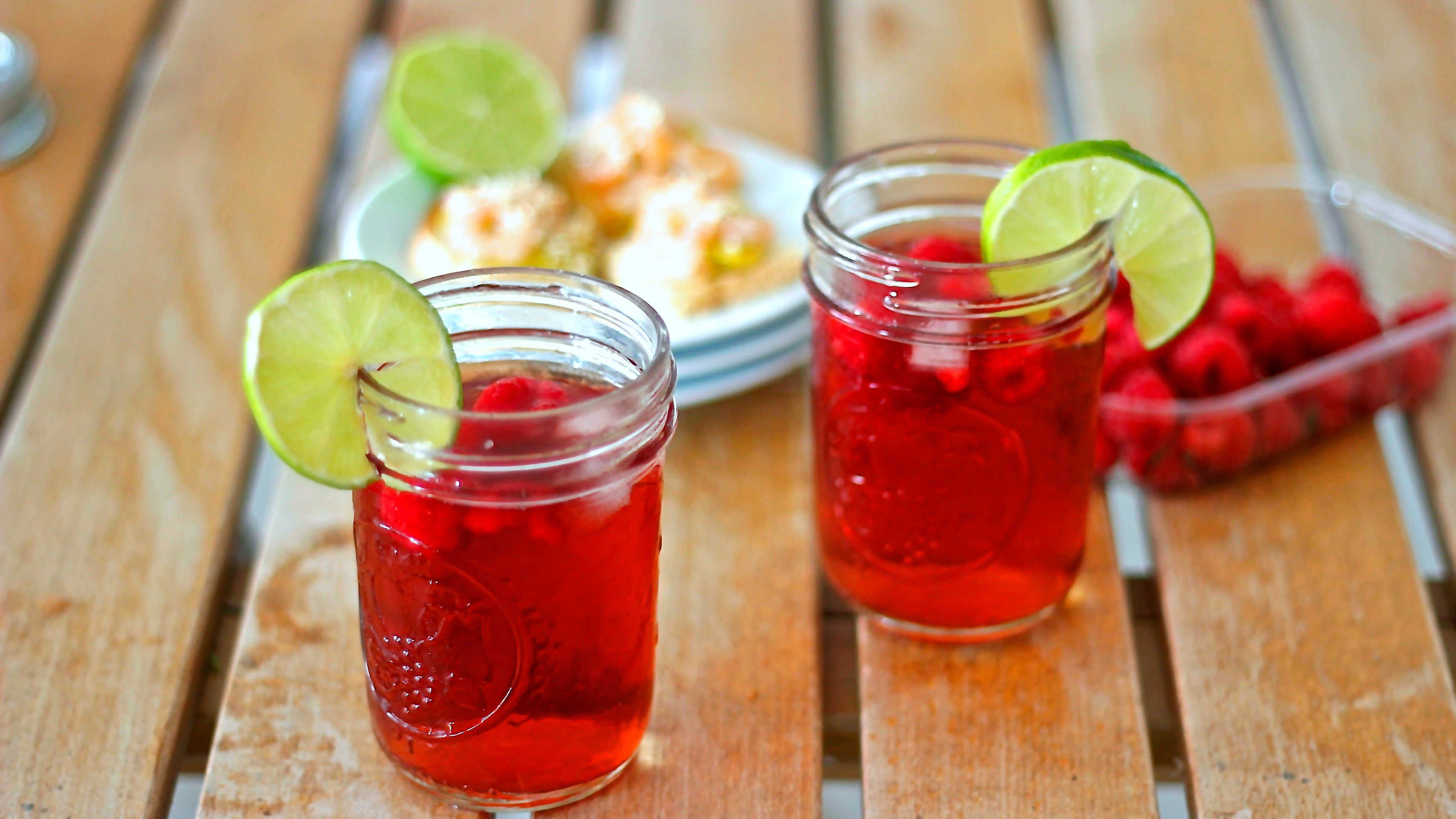 Gin tonic al lampone