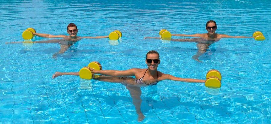 ginnastica acqua