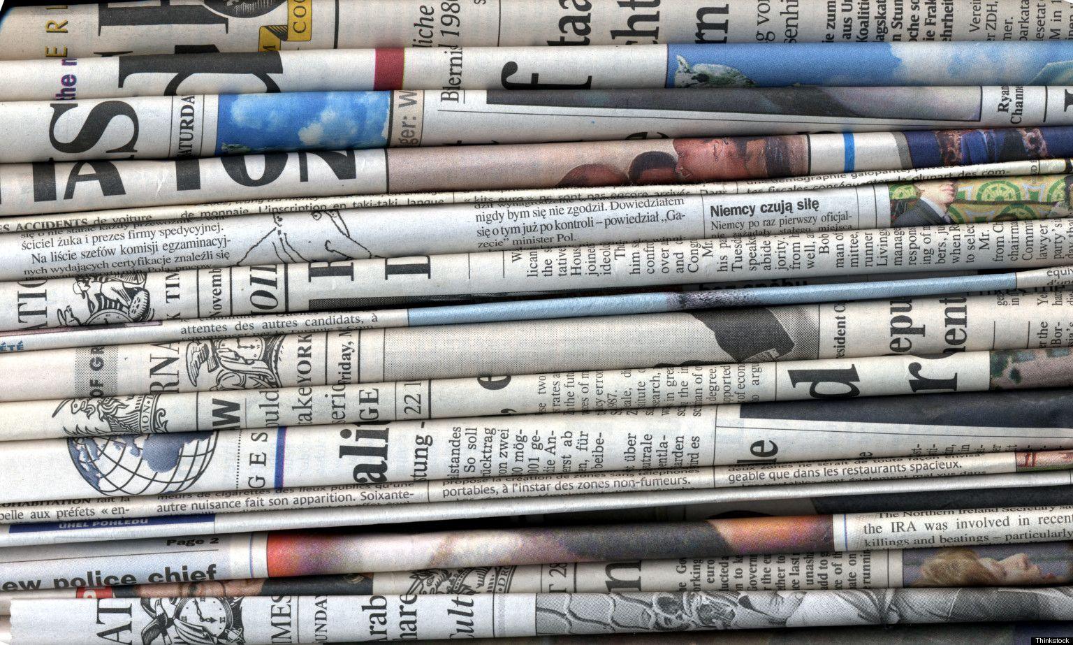 Riciclo creativo e riutilizzo di vecchi giornali bigodino