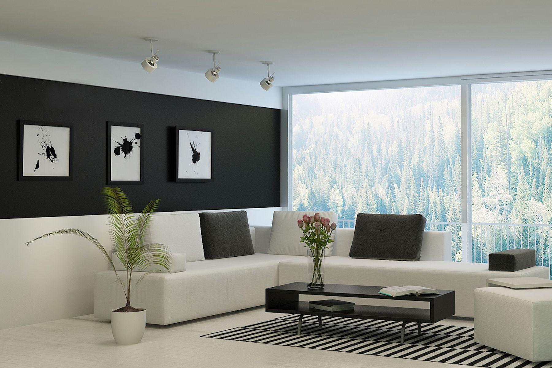 Arredare casa con le pareti nere