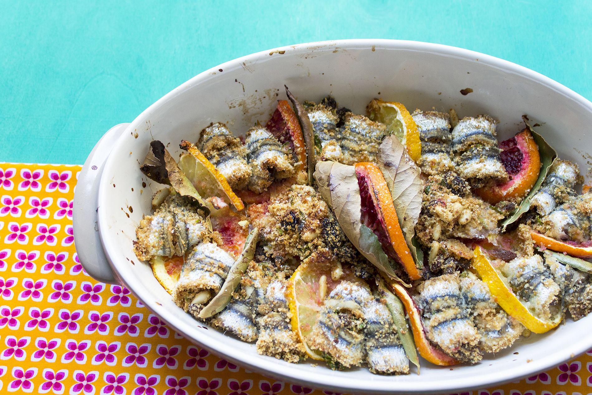 La ricetta delle sarde a beccafico