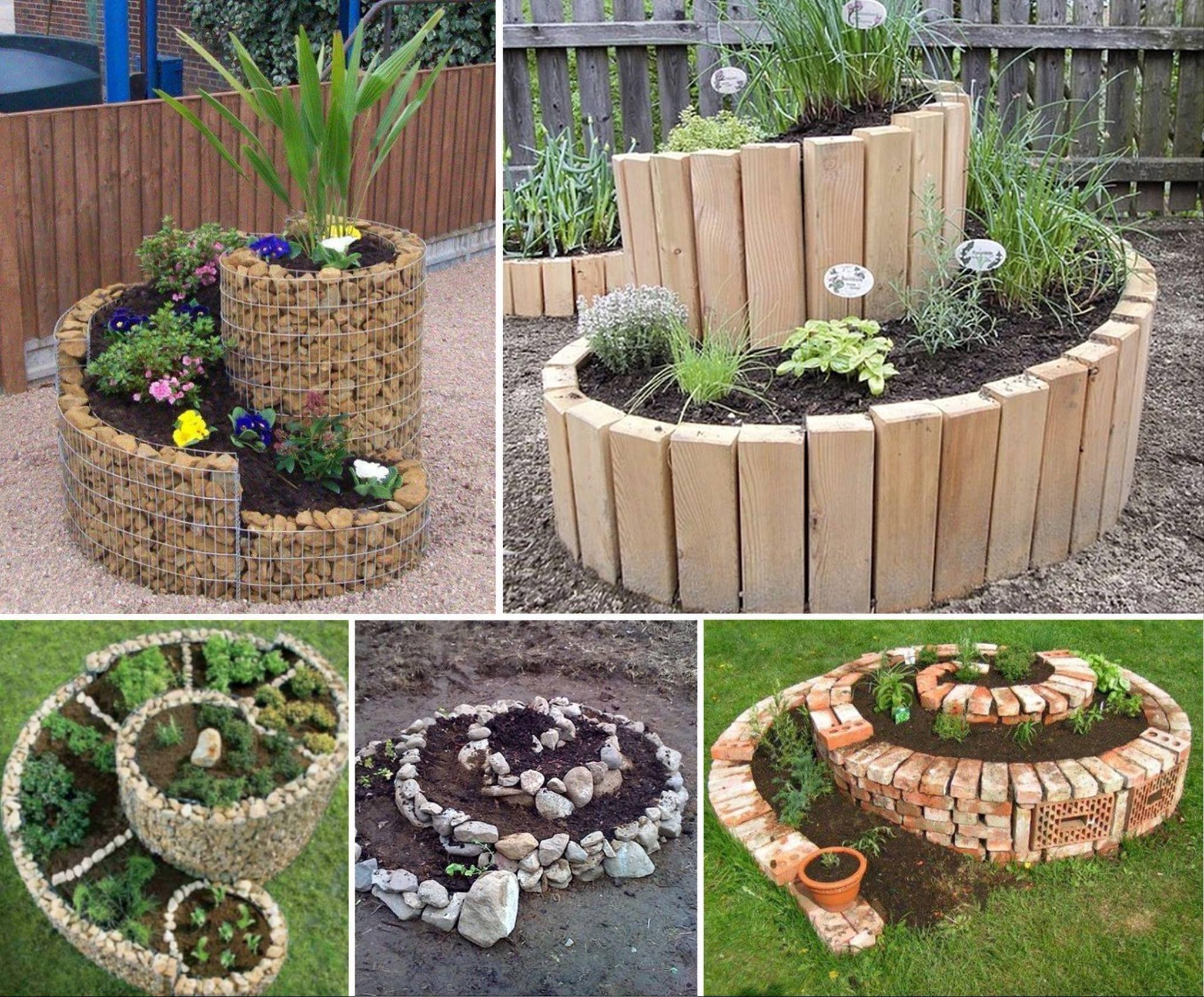 giardino spirale