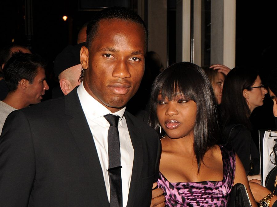 Didier Drogba e Lalla Diakité