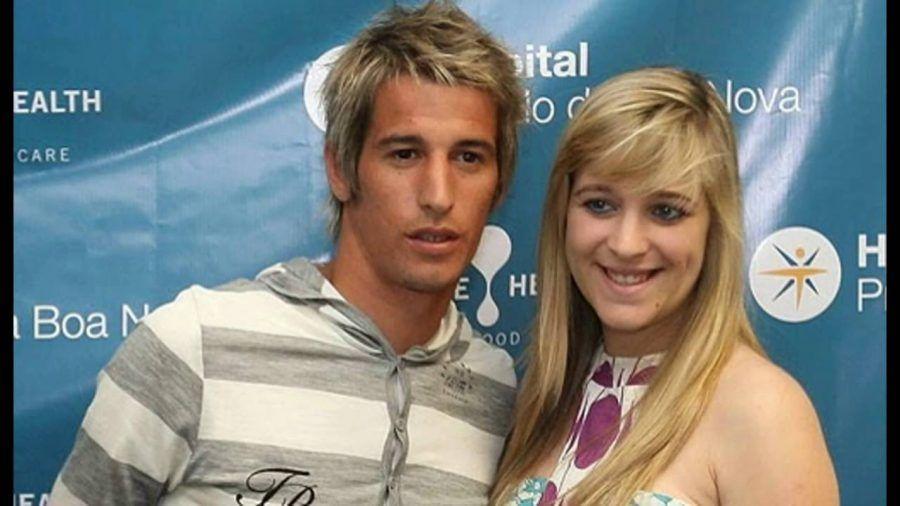 Fabio Coentrao e Andreia