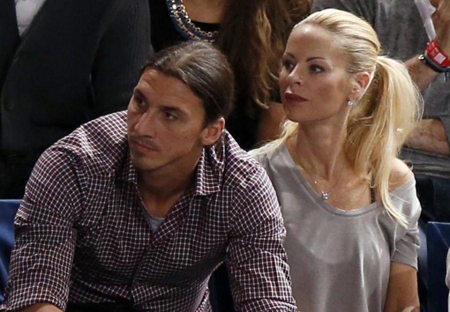 Helena Seger e Zlatan Ibrahimovic