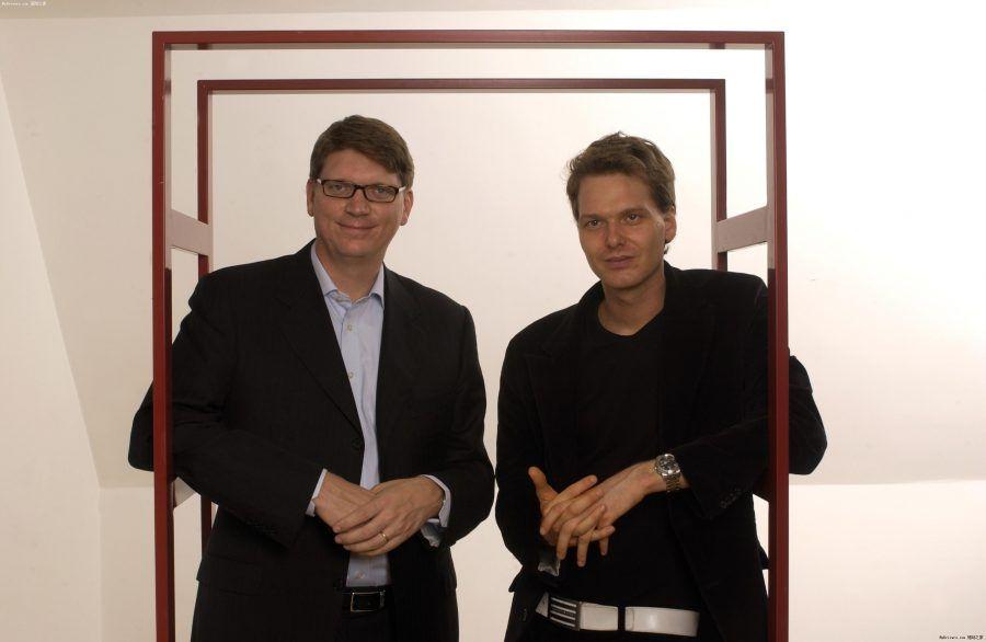 Italia Svezia_Niklas Zennström e Janus Friis