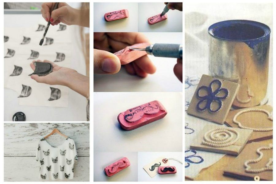 Molto Idee geniali per stampare sui tessuti | Bigodino TN51