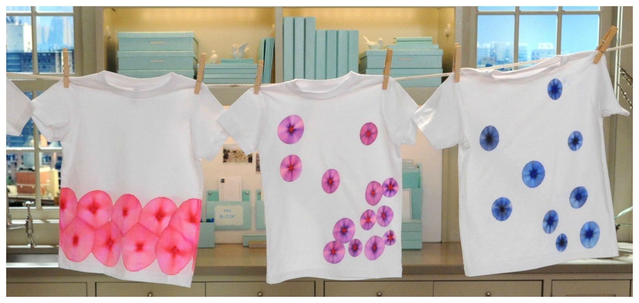 Idee geniali per stampare sui tessuti