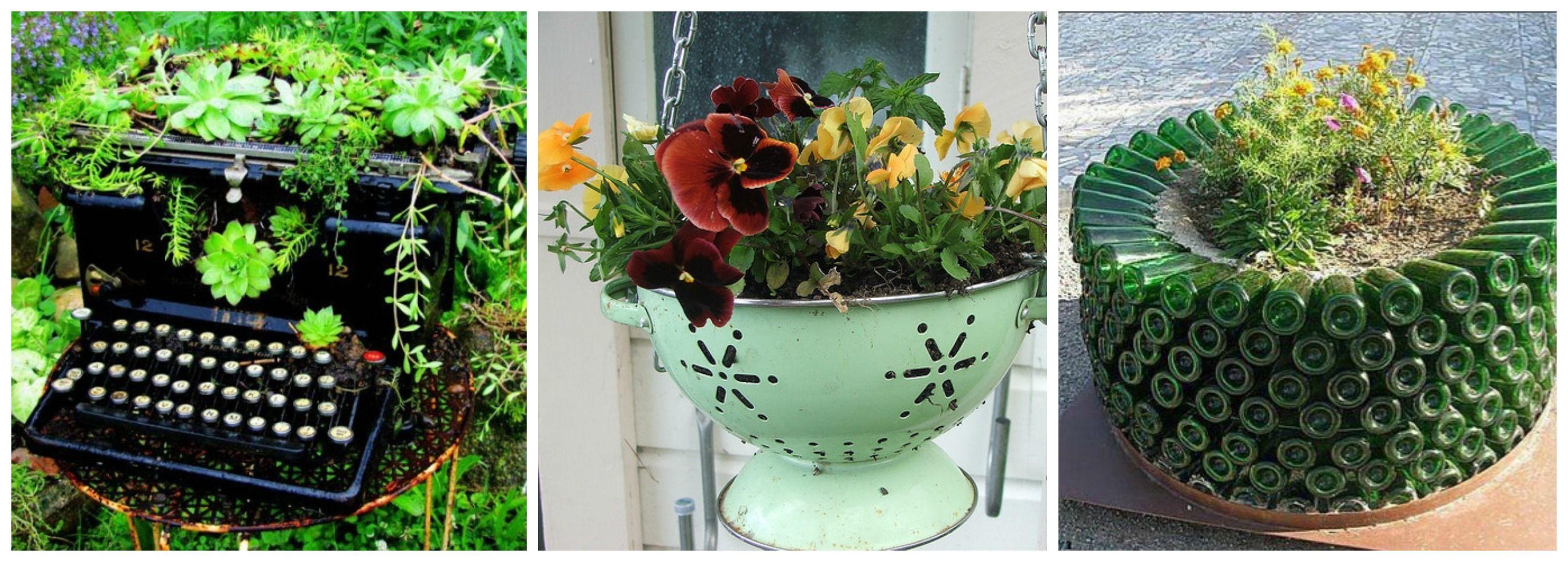 Idee originali per la tua fioriera creativa immagine for Idee per realizzare una fioriera