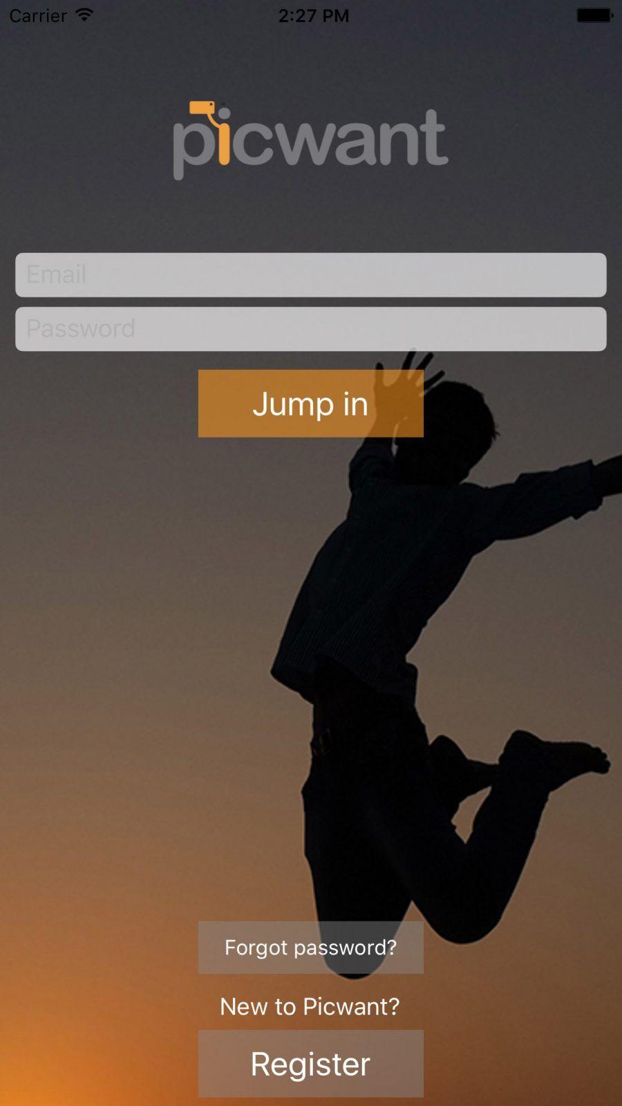 Picwant app register[1]