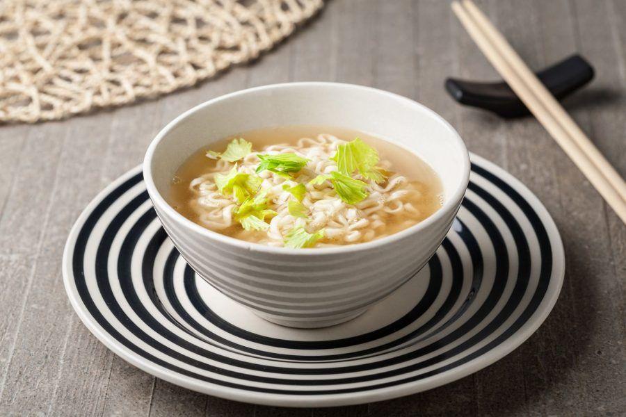 Riso e zuppa di miso