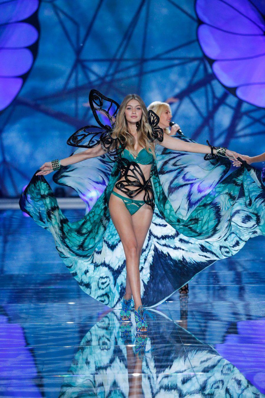 Gigi Hadid per Victoria's Secret