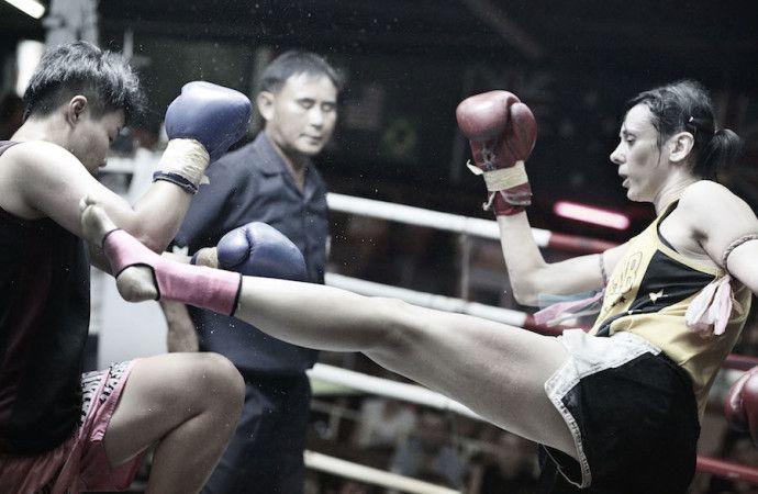 Chantal Ughi combatte per il titolo