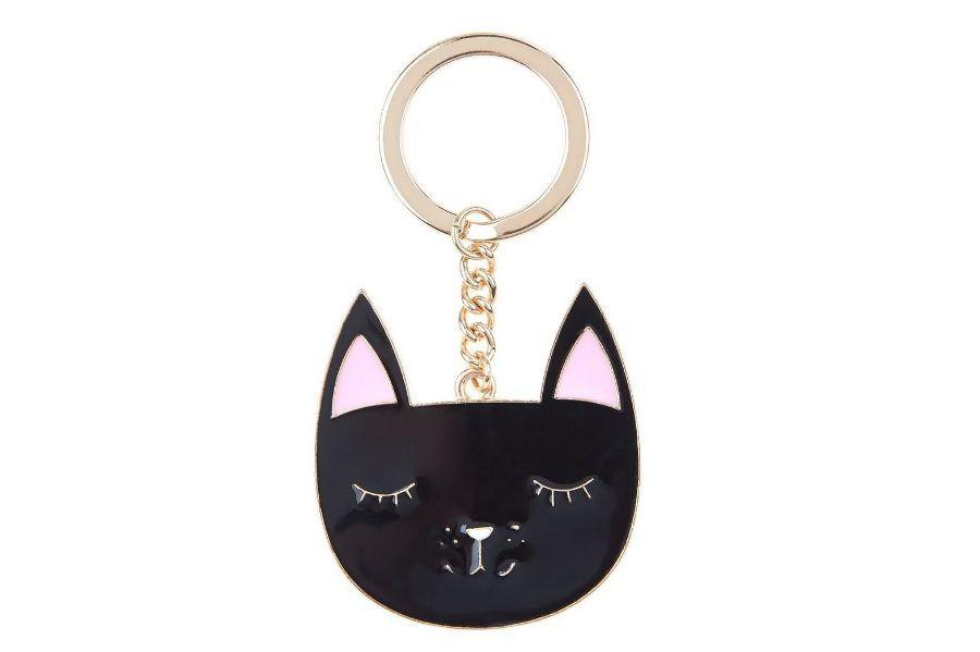 gatti-neri-portachiavi