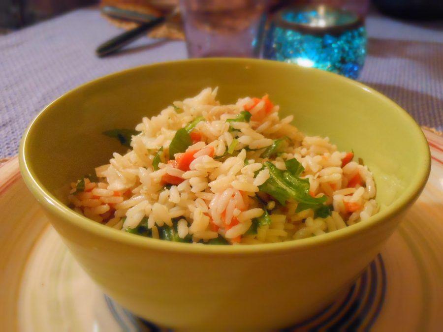 ...decisamente non la solita insalata di riso freddo da bar dell'acli...