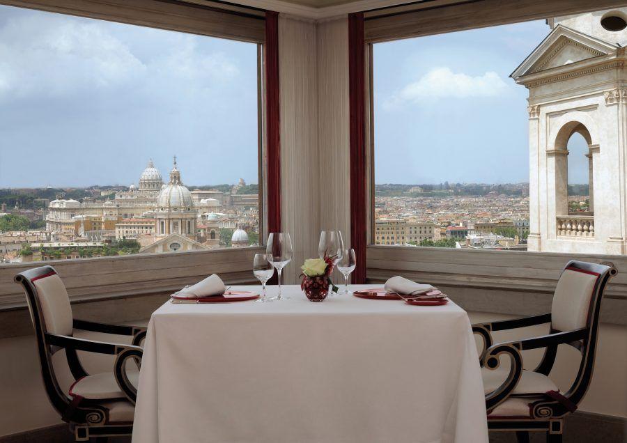 i migliori ristoranti romantici di Roma