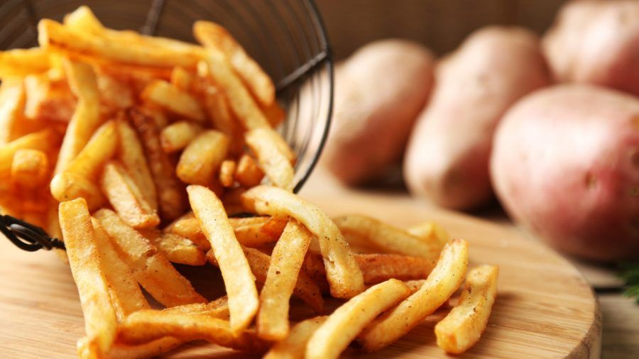 ...contenti voi di somigliare alle patatine fritte...