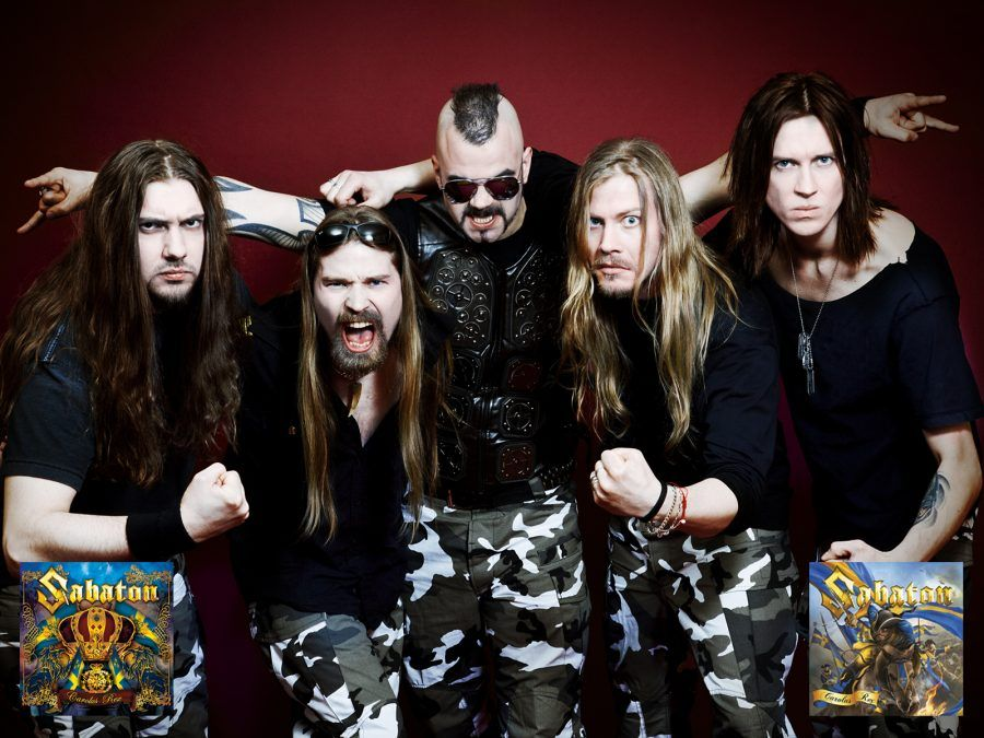 Sabaton metal Svezia