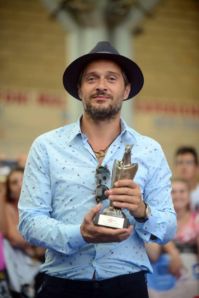 Claudio Santamaria ospite al Giffoni Film Festival 2016
