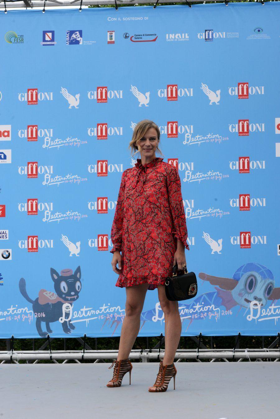 Antonia Liskova ospite al Giffoni Film Festival 2016