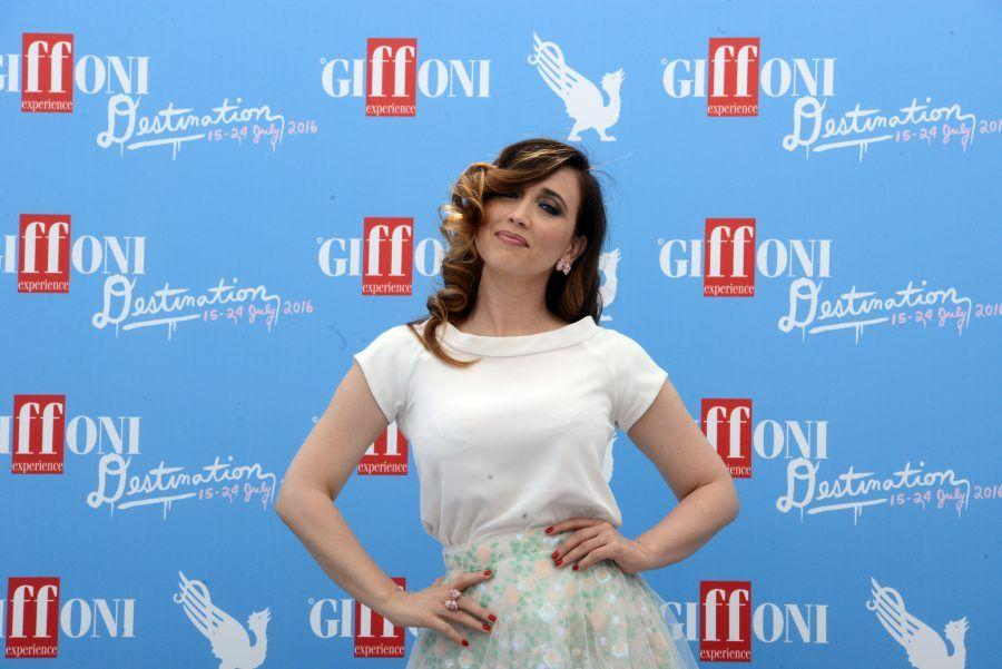 Chiara Francini ospite al Giffoni Film Festival 2016