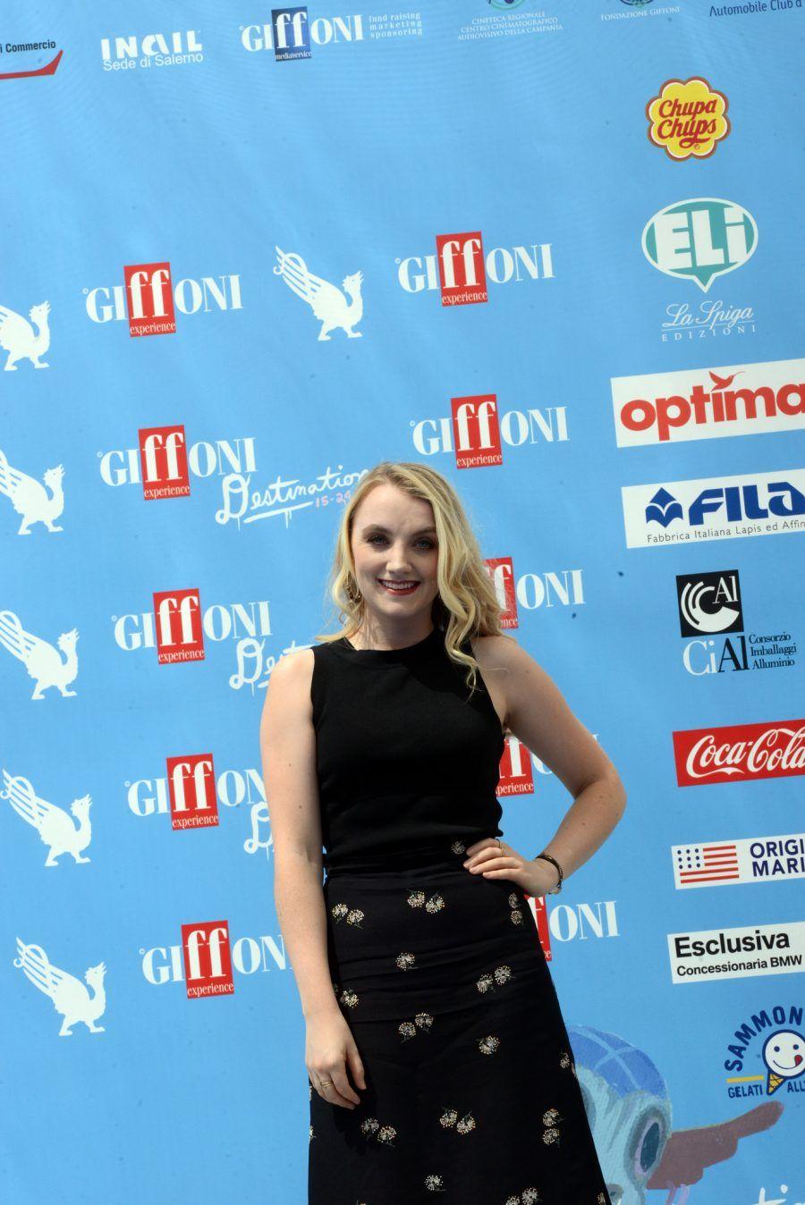 Evanna Lynch ospite al Giffoni Film Festival 2016