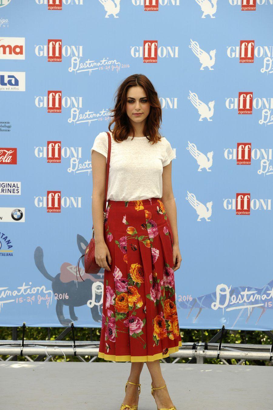 Miriam Leone ospite al Giffoni Film Festival 2016