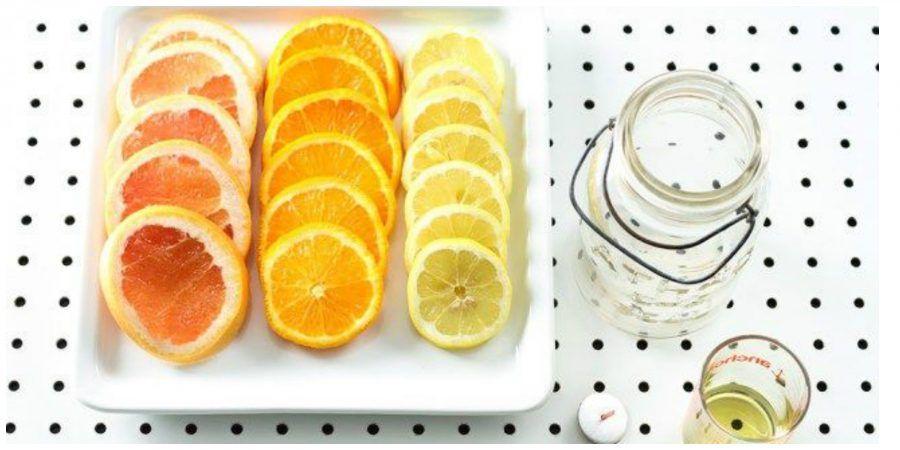 Fettine d'arancia
