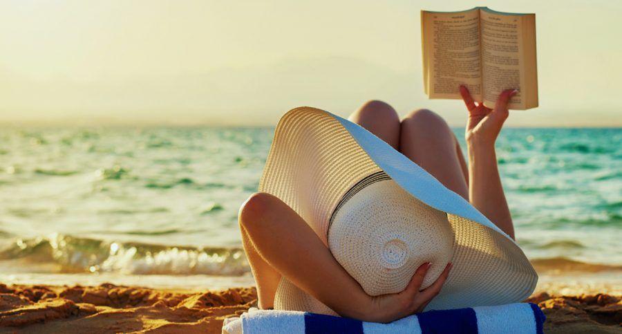 Leggere in spiaggia