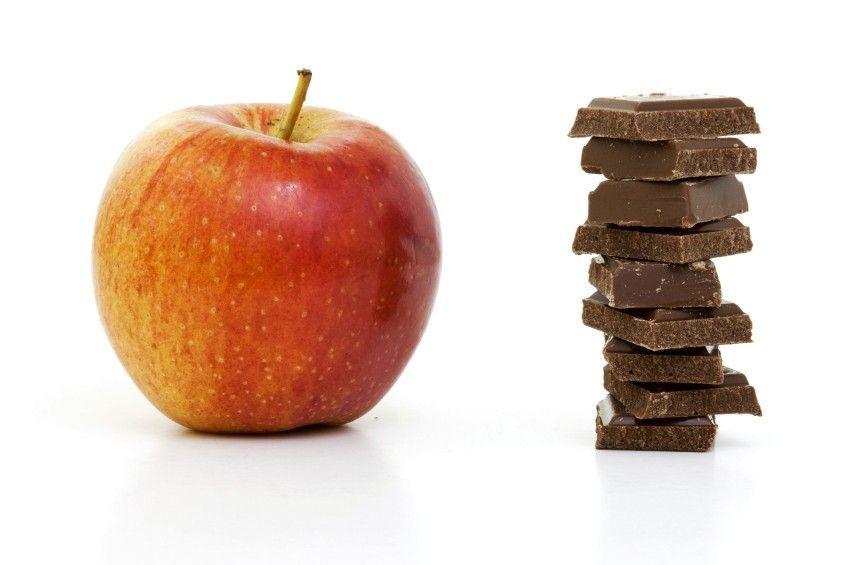 Mela e cioccolato
