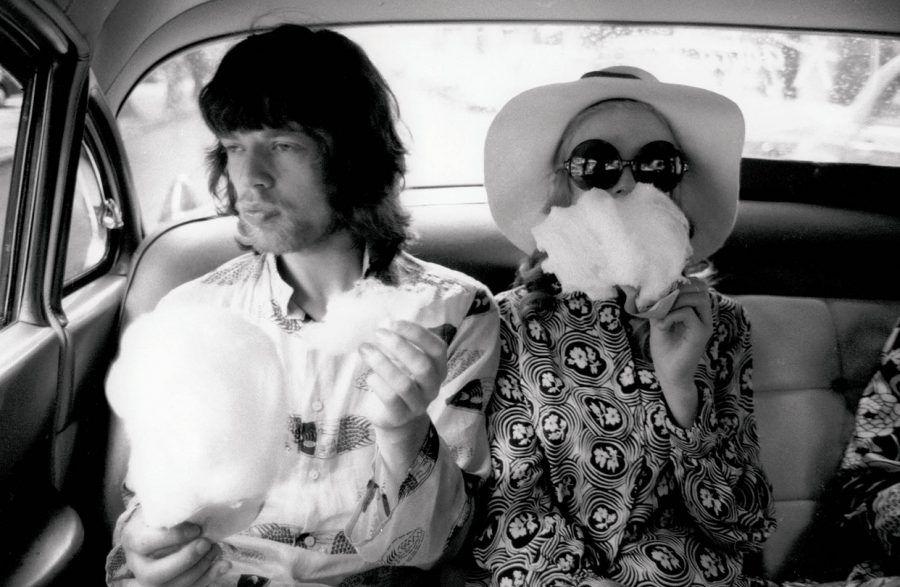Mick Jagger e Marianne Faithfull