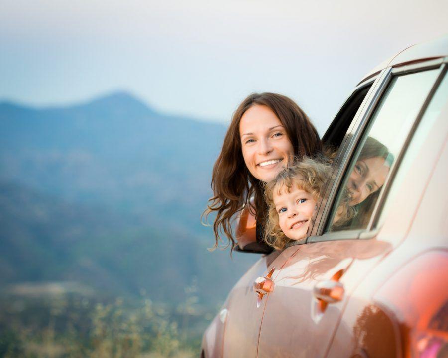 Viaggiar in auto con i bambini