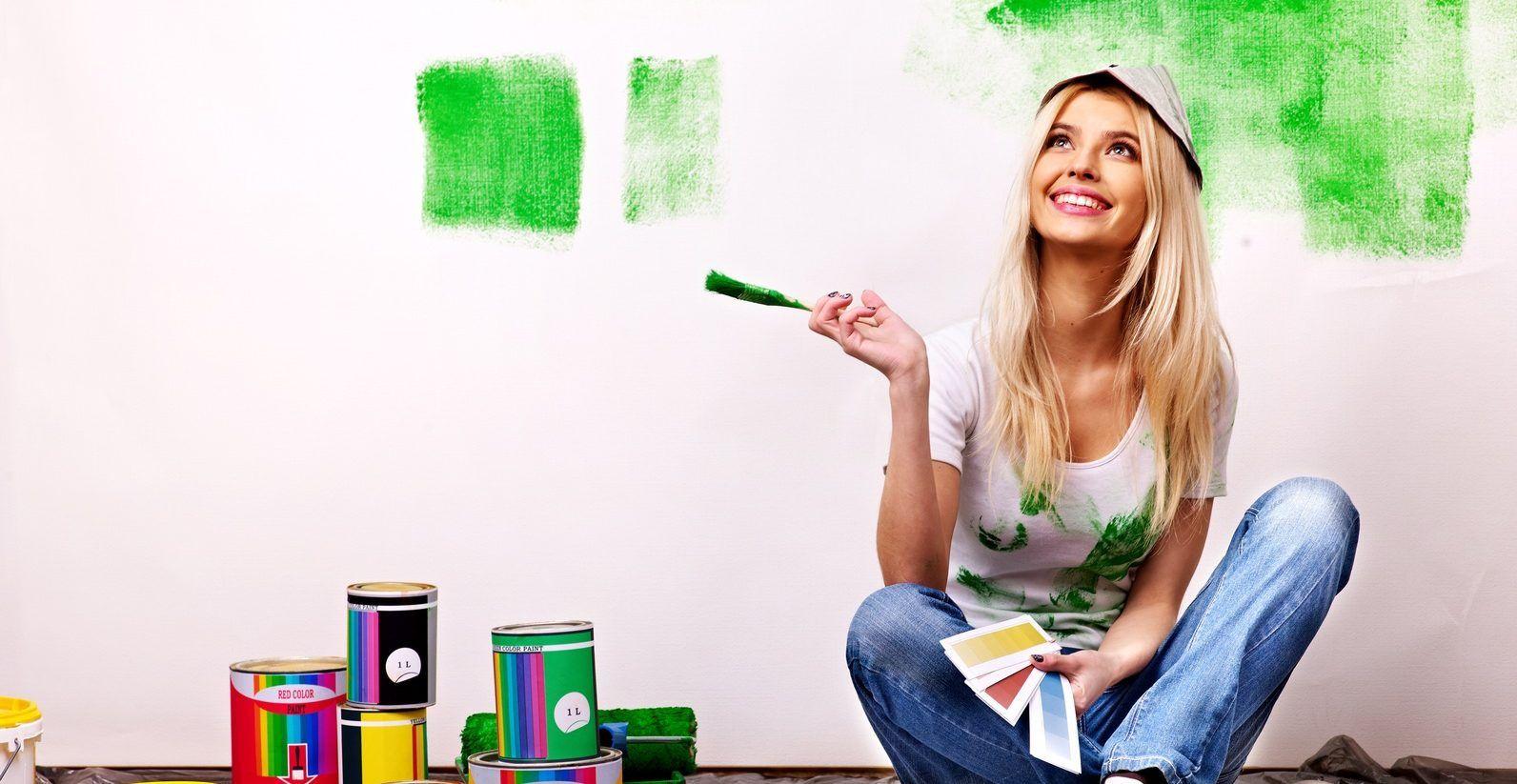 Come creare una parete colorata senza tingere i muri
