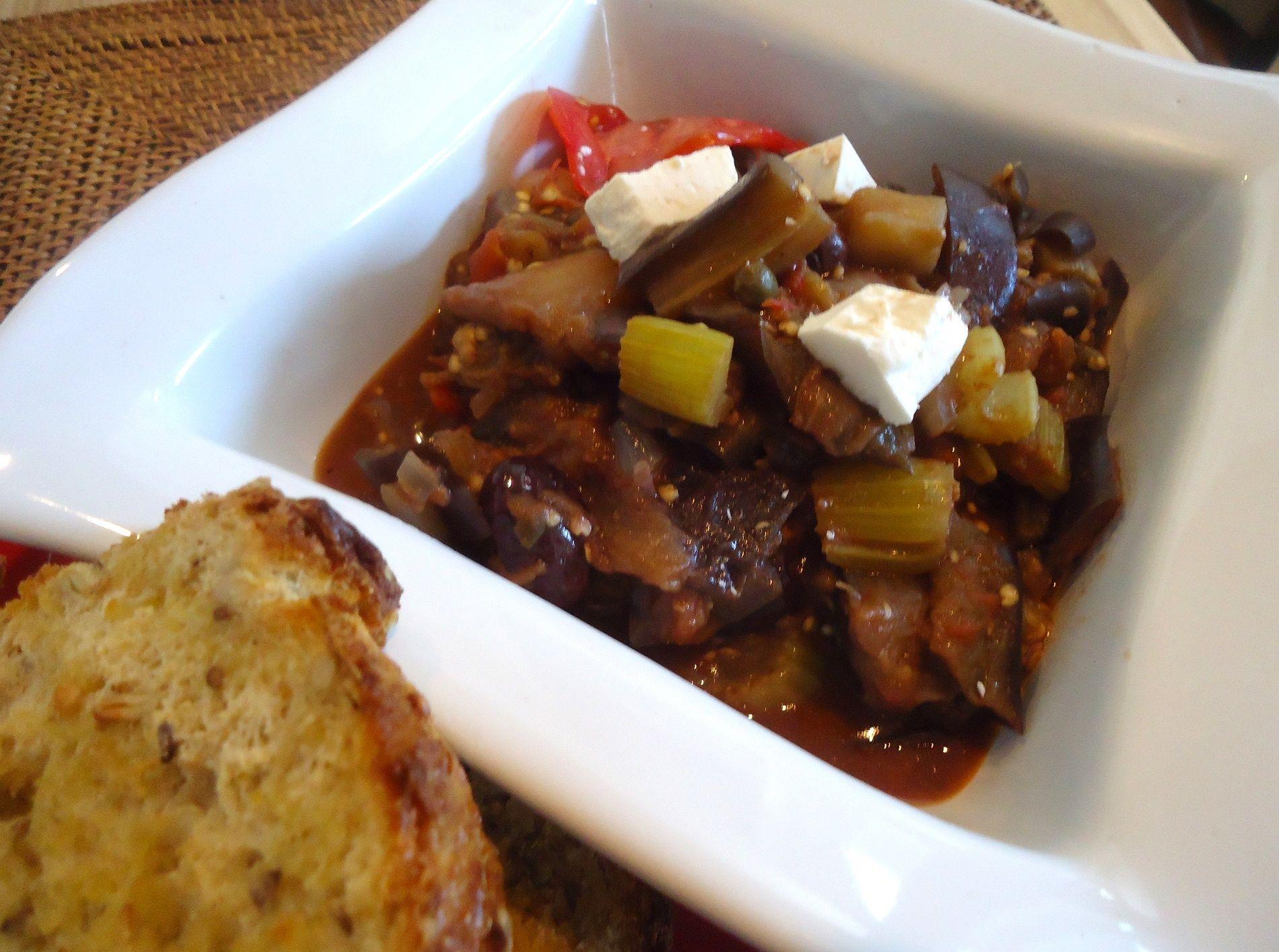 La ricetta tradizionale della caponata siciliana