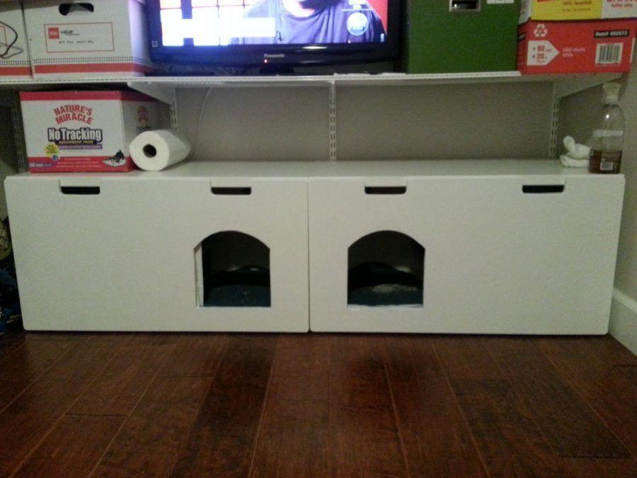 Mobili Per Gatti Fai Da Te : Come realizzare una lettiera per gatti con i mobili ikea bigodino