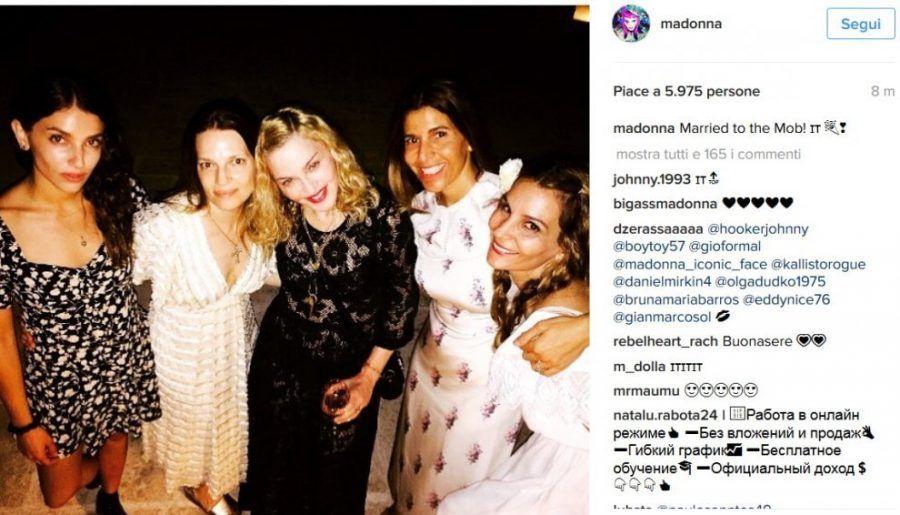 Madonna in vacanza in Puglia