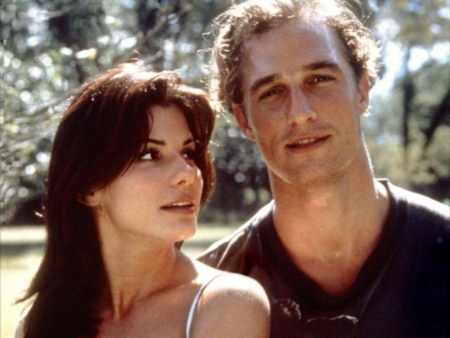 Matthew McConaughey con Sandra Bullock